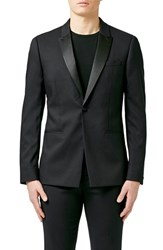 Men's Topman Skinny Fit Black Tuxedo Jacket