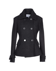 Gianfranco Ferre Gf Ferre' Coats Steel Grey