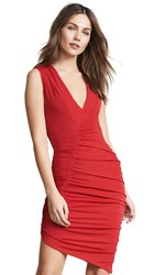 Misha Collection Pia Dress Red