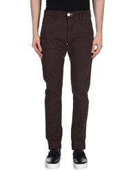Elvine Casual Pants Dark Brown
