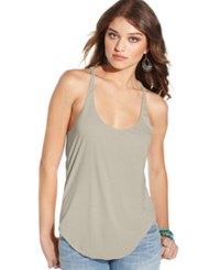 American Rag Racerback Tank Top Only At Macy's Heather Oatmeal