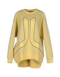 Wesc Topwear Sweatshirts Women Yellow