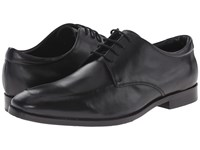 Gordon Rush Tyler Black Nappa Leather Men's Lace Up Casual Shoes