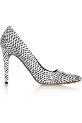 Proenza Schouler Elaphe Pumps White