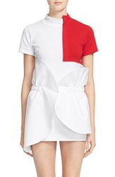 Women's Jacquemus 'Le T Shirt Carre' Colorblock Tee
