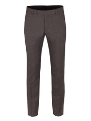 Limehaus Men's Grey Puppytooth Trousers Grey
