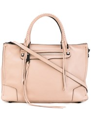 Rebecca Minkoff Mab Tote Women Calf Leather Polyester One Size Nude Neutrals
