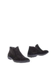 Aldo Brue Ankle Boots Dark Brown