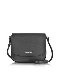 Lancaster Paris Adele Saffiano Leather Crossbody Bag Black