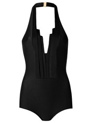 Adriana Degreas Halter Neck Swimsuit Black