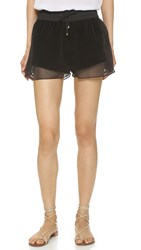 Sass And Bide Flying High Shorts Black