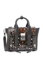 3.1 Phillip Lim Pashli Mini Satchel Black Ivory