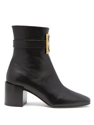 Givenchy 4G Leather Boots Black