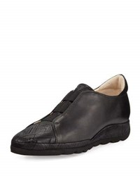 Amalfi By Rangoni Mosca Casual Leather Shoe Black