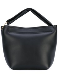 Victoria Beckham Top Handle Tote Women Leather One Size Black