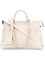 Marsell Classic Tote Leather White