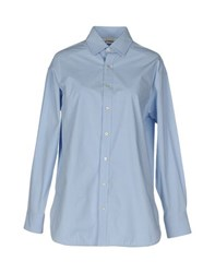 Pinko Shirts Shirts Women Sky Blue