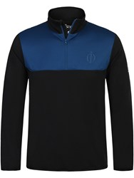Oscar Jacobson Nario Tour Half Zip Black