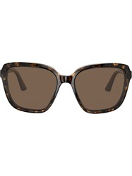 Prada Eyewear Heritage Sunglasses Brown
