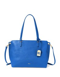 Lauren Ralph Lauren Anfield Claire Shopper Bag Crown Blue