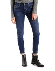 Levi's Cropped Denim Jeans Blue
