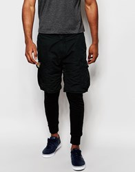 Denim And Supply Ralph Lauren Denim And Supply By Ralph Lauren Shorts With Joggers Black