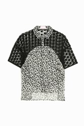 Giamba Cap Sleeve Star Shirt Multi