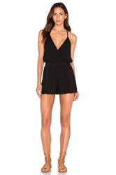Young Fabulous And Broke Hollie Romper Black