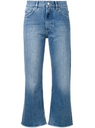 Hope Close Cropped Jeans Women Cotton 28 Blue