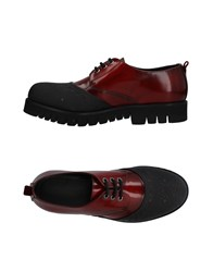 Attimonelli's Lace Up Shoes Red