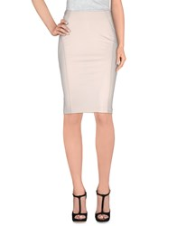 Pinko Skirts Knee Length Skirts Women Ivory