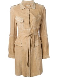Sylvie Schimmel 'Bengale' Coat Nude And Neutrals