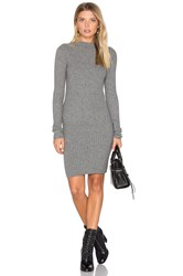Lamade Melody Funnel Neck Dress Grey