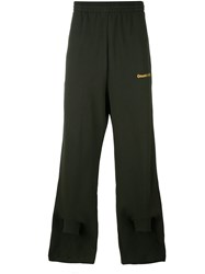 Gosha Rubchinskiy Elongated Track Pants Green