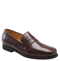Johnston And Murphy Men's 'Ainsworth' Penny Loafer Antique Mahogany