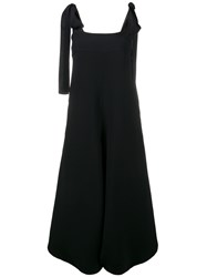 Chloe Sleeveless Wide Leg Jumpsuit Blue