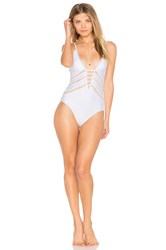 Ella Moss Juliet Solids One Piece White