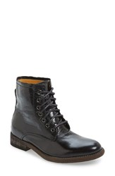 Blackstone Women's 'Il94' Lace Up Boot Black Leather