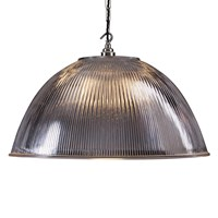 Old School Electric Prismatic Dome Ceiling Light Extra Large