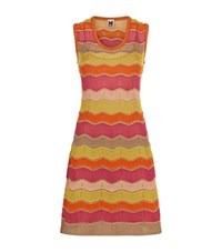 M Missoni Striped Wave Lurex Dress Female Multi
