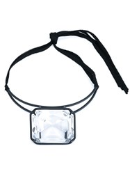 Rosie Assoulin 'Ice Ice Baby' Crystal Choker Black