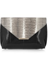 Emilio Pucci Snake Clutch Animal Print
