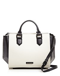 Kendall And Kylie Brook Satchel Black White
