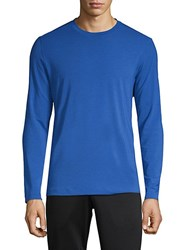 Mpg Dash Long Sleeve Tee Cobalt