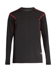 Every Second Counts Bolt Long Sleeved Performance Top Black