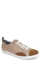 Joe's Jeans Men's Joe's 'Speed' Suede And Nylon Sneaker Taupe