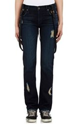 James Jeans Buddy Suspended Jeans Blue
