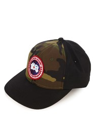 Canada Goose Logo Patch Baseball Cap Multi