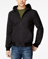 American Rag Floyd Hooded Jacket Only At Macy's Charcoal Heather