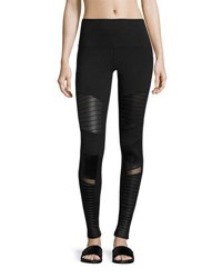 Alo Yoga Moto High Waist Sport Leggings Neutral